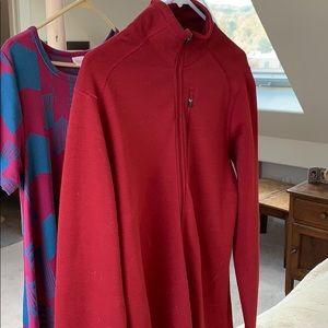Sweater/ jacket Ibex. Full zip